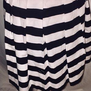 White House Black Market Dresses - White House Black Market Wear and Flare Striped